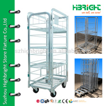 wheeled shopping cart small laundry cart hanger