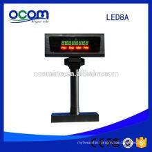 POS LED 7 Segment Display Customer Display Pole