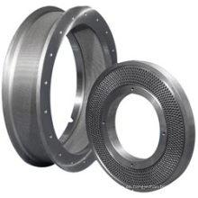 Piezas forjadas de molino de pellets, forja de anillo, 20crmnti, 20crmnmo, 16mncr5, DIN 1.4034 / X46cr13 / AISI 420