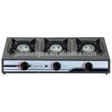 Teflon coated 3 burner gas cooker stove