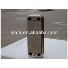 Brazed heat exchanger, plate heat exchanger small and high efficiency