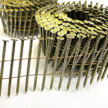 Hot Sell Small Cap Gauge 11 Corrugated Aluminum Roofing Coil Nails