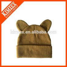 Оптовая 100% акриловые вязать Cat Hat