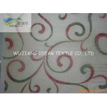 Embroidered Polyester Organza Fabric For Decoration Fabric/Wedding Dress