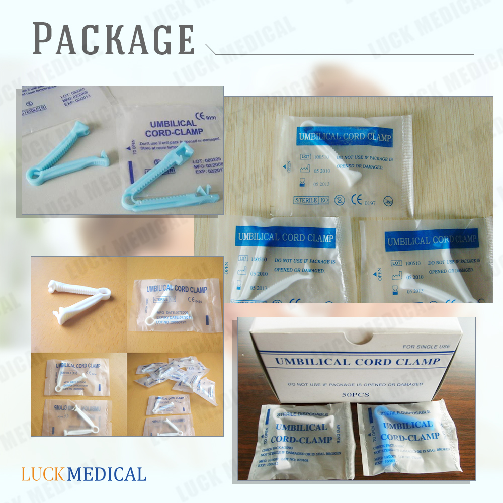 Package Umbilical Cord Clamp