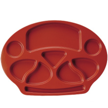 100% Melamine Dinnerware- Duotone Plate/Food-Grade Melamine Dinnerware (CC819)
