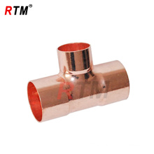 2 inch copper equal tee fitting