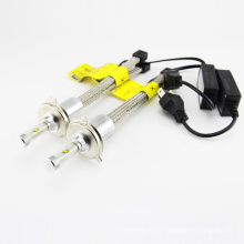 Auto peças, R4 tipo 80w 9600lm carro levou farol lâmpada auto levou lâmpada h4 h7