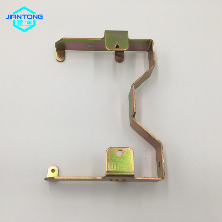 custom sheet metal zinc plated bending stamping part (5)