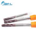 BFL carburo Fresa CNC escariadores de flauta en espiral