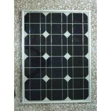Módulo fotovoltaico monocristalino de panel solar de 25W con certificado TUV
