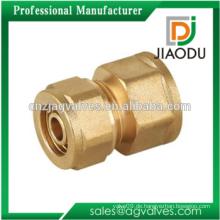 Messing Buchse Adapter mit Kompression End Kompression Pex Rohrverschraubung