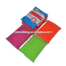 China Yiwu fábrica Wholesales super cozinha esfregona esponja de malha