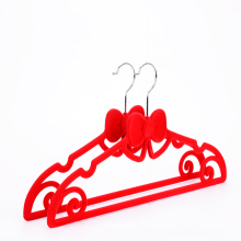 No slip slim red velvet flocked hanger