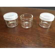 High Quality Mini Clear Glass Vial for Cosmetic Jar Packing