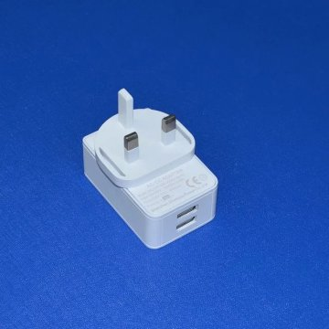 2 USB Port Travel Adapter Chargeur 5V2a-2.5A-3A