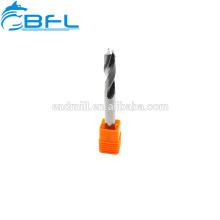Herramientas CNC de BFL, herramientas de carburo sólido, taladros de punto fijo recubiertos, 90 grados