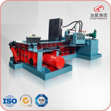 Pequeña fábrica de chatarra de acero hidráulico de la máquina empacadora