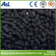 Carbone activé au bois (granule de 3mm) pour la récupération de solvant
