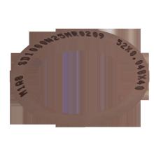 Lame de découpage ultra-mince à membrane métallique