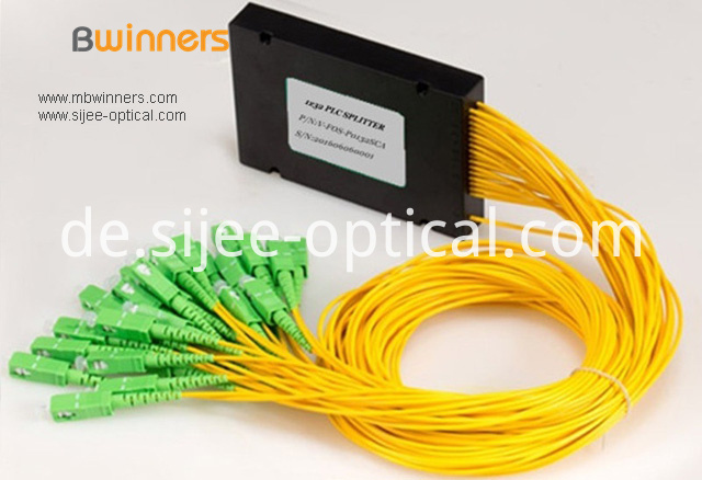 Cassette Type 1x32 Plc Splitter With Sc Apc Connector