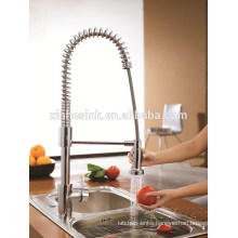 Kitchen stainless steel double trough sink for faucets