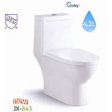Cupc Keramik-WC mit Soft-Sitzbezug (A-JX843)