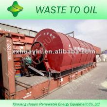 Máquina y equipo de reciclaje de desperdicios y neumáticos usados y desechados, y llantas de desecho para 10 toneladas