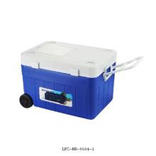 Caixa plástica do refrigerador 36L, refrigerador, caixa de gelo
