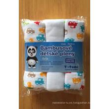 Pañal 100% de impresión de bebé de algodón (BC-BD1001)