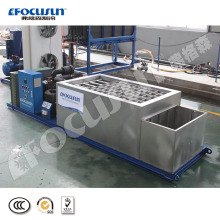 20202 Focusun high efficient 1 Ton brine system block ice machine