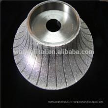 brazed diamond grinding wheel for shaping marble stone