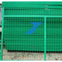 Clôture de treillis métallique soudée par atelier, Fengcing d'isolation d'entrepôt