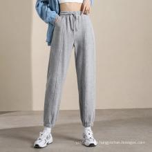 2021 Hot Sales Damen graue Jogginghose Großhandel