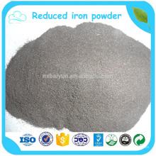 Pó de ferro reduzido de pureza de 98%