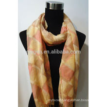 Fashion Plaid pattern Blending Scarf