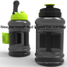 Wholesale 2.2/2.5L PETG Plastic Water Bottle with Container