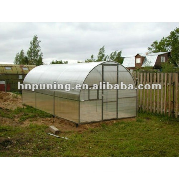 Bonne isolation thermique garantie de 10 ans feuille de serre de jardin en polycarbonate