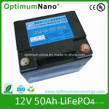 Lithium Li-ion Battery (LiFePO4) 12V 50ah for UPS Electric Bike