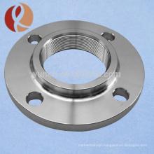 Factory supply titanium threaded flange price per gram