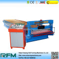 Corrugated roofing sheet bending roll forming machine