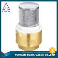 TMOK 2 '' tamiz de latón de alta resistencia y filtro de patrón con filtro de acero inoxidable 304 para agua