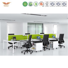 Morden Green Stright Divider Office Call Center Cubicle Workstation