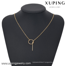 43188- Xuping Newest females casual chain necklace display