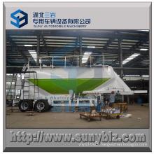 28000 L Tandem Axle Coniod Shape Dry Bulk Tank Trailer