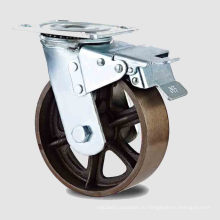 Тяжелый тип двойного педального тормозного чугунного колеса (KHX3-H11-A)