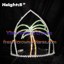 Summer Palm tree Pageant Crowns