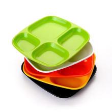 Индивидуальная пластиковая тарелка с фруктами для ужина