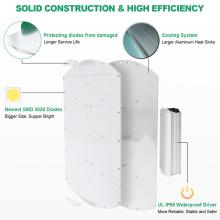 Энергосберегающий светодиодный светильник с регулируемой яркостью для выращивания растений Quantum 360 Вт