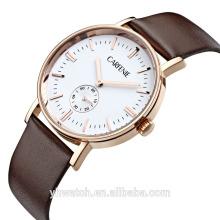Reloj de cuarzo del acero inoxidable de la señora de los hombres de la moda de China Watch Marca de Carfenie de la fábrica